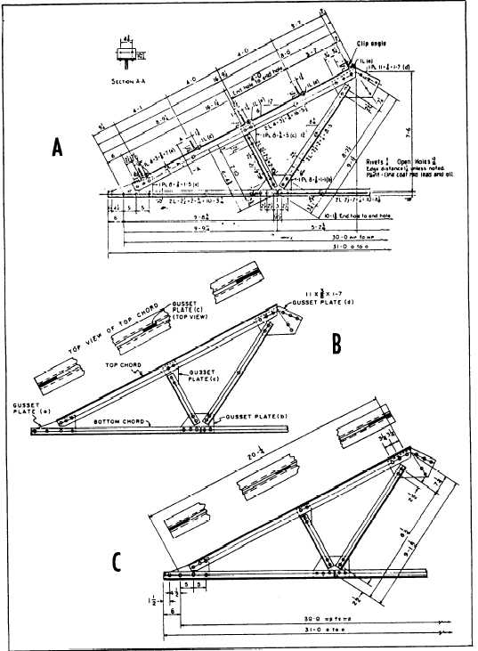 Figure 7 7 Riveted Steel Truss